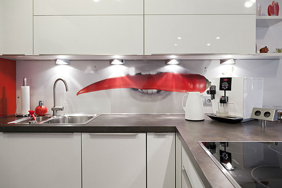 ... Herz   Ihrer Bewohner   Begehrt: Durchdachter Grundriss, Zentrale Lage,  Schönes Umfeld Und Ein Modernes, Zeitgemäßes Design Mit Einem Roten  Farbtupfer.